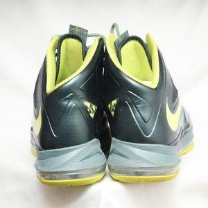 Buy Cheap Nike Zoom Lebron X 10 541100 300 Dunkman Black Green W